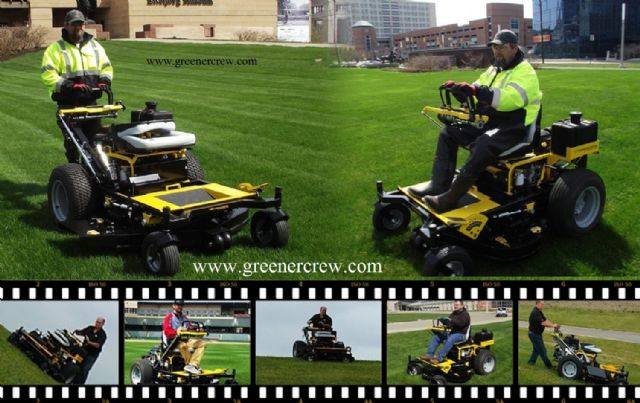 "52"" Zero Turn Riding/Walk Behind Lawn Mower"