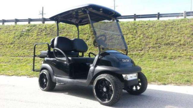 2014 Club Car Precedent Golf Cart Black Long Long Island New York
