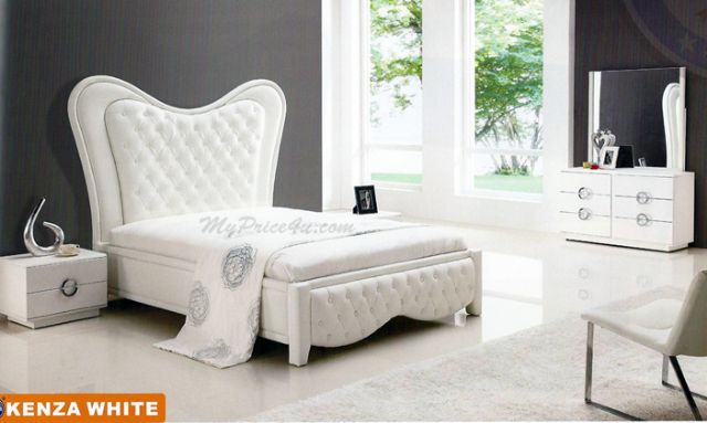 Kenza White Bed by American Eagle