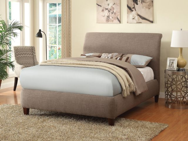 300366Q LEVINE UPHOLSTERED QUEEN SIZE BED COASTER