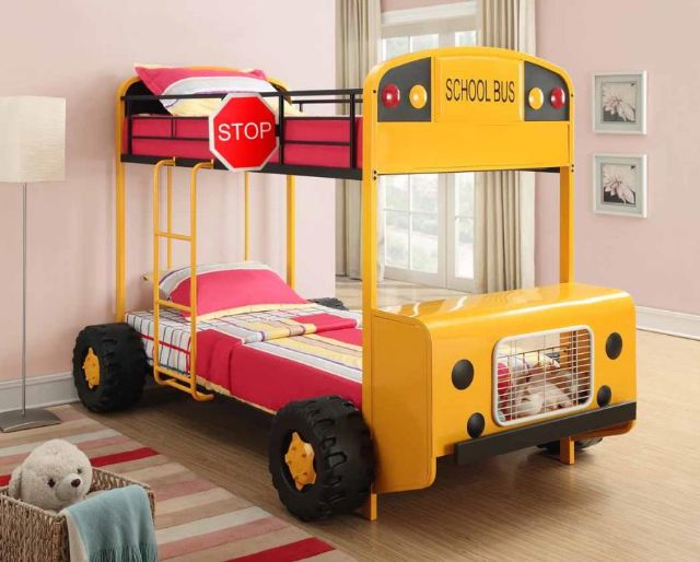 SCHOOL BUS BUNK BED 460011 COASTER