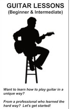 GUITAR LESSONS (Beginner &amp; Intermediate)