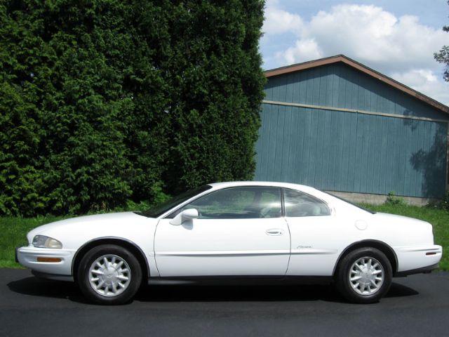 1999 Buick Riviera Coupe-Auto-White-76K. Mi.