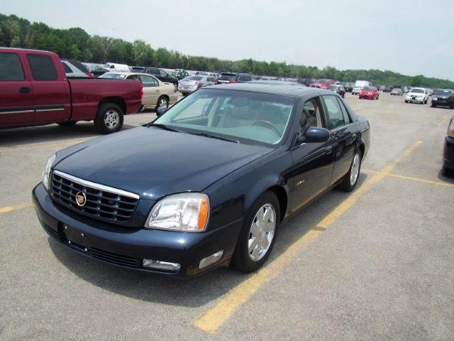 2004 Cadillac Deville DTS Blue-Auto.-69K. Mi.