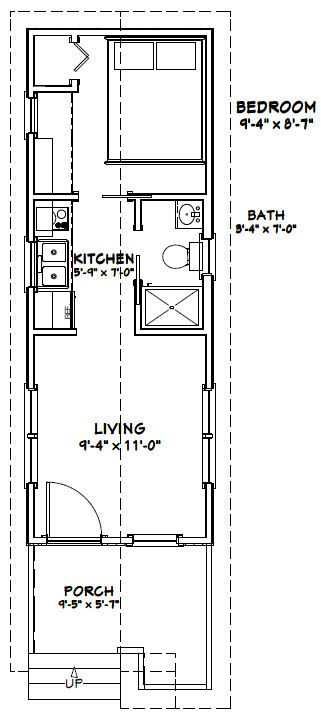 10x28 1 bedroom tiny house  misc for sale classified