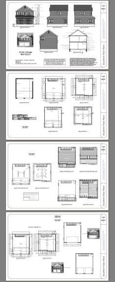 24x28 2 car garage 1 178 sq ft pdf floor plan dover for 24x28 garage plans