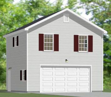 24x30 2 car garage pdf floorplan 720 sq ft saint for 40x36 garage