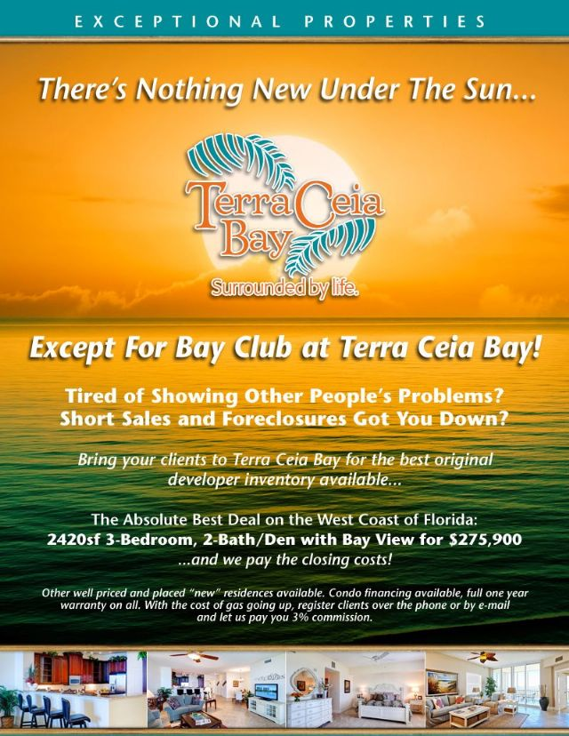 Terra Ceia Bay! Welcome to Florida Gulf living..