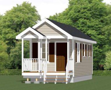 10x30 tiny house 300 sq ft pdf floorplan washington for Small house plans washington state