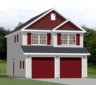 16x20 house 569 sq ft pdf floor plan solar for 24x36 garage plans