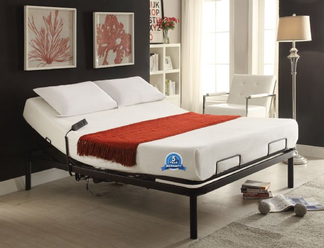 HAMMOND ELECTRIC ADJUSTABLE QUEEN BED WITH REMOTE
