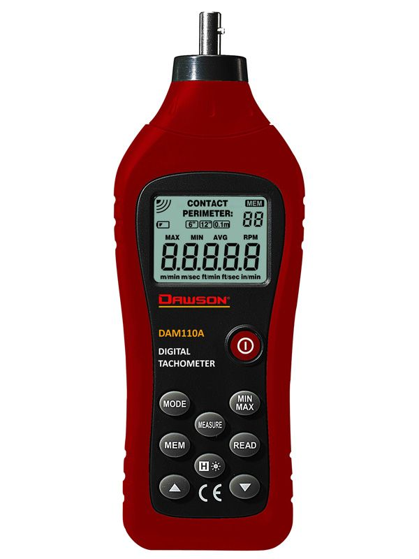 Digital Photo Tachometer Measuring Rotation Speeds
