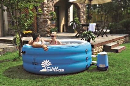 Pro Series Inflatable 4 Person Spa Hot Tub