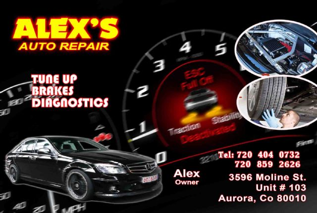 MECHANIC SERVICE ~ SERVICIO DE MECANICA~ BODY SHOP