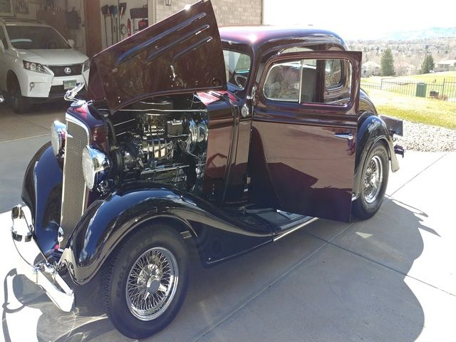 1934 Chevrolet 5 Window Master Coupe DENVER COLORADO Classic Cars