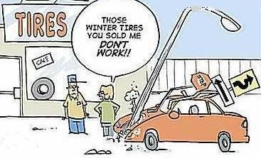 WINTER TIRES = LOW PRICE - CALL NOW - DE NIEVE