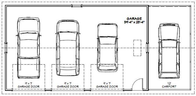 40x24 3-car garage w  carport  misc for sale classified ads