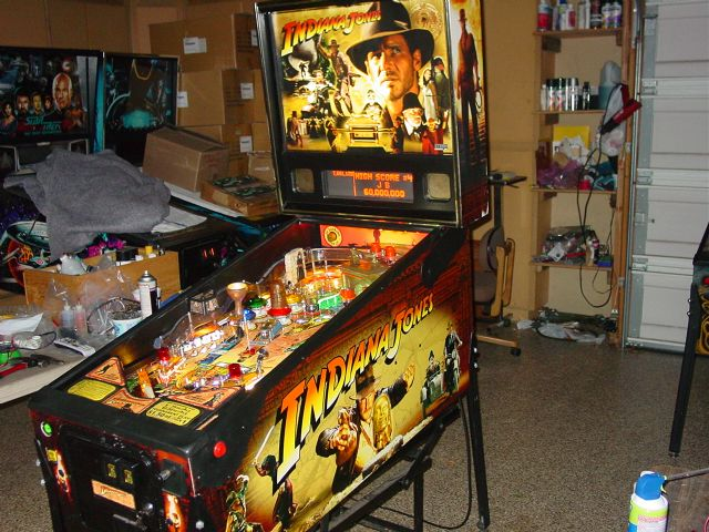 Indiana Jones Pinball Machine Craigslist - badbrown