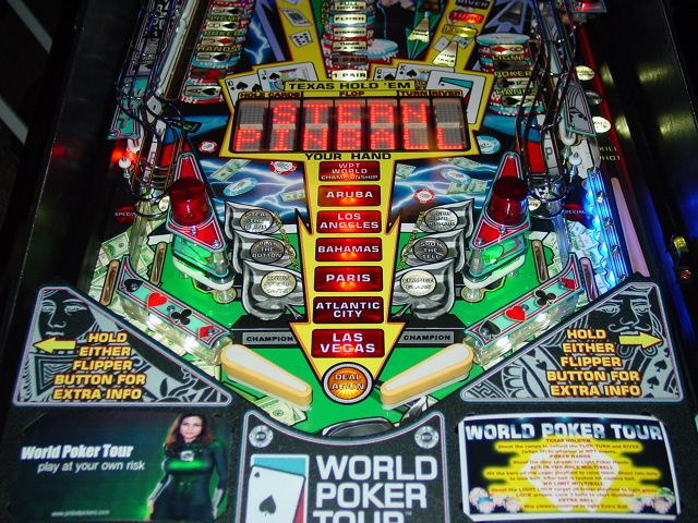 World poker tour pinball tutorial