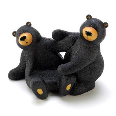 Black-beary Cell Phone Holder