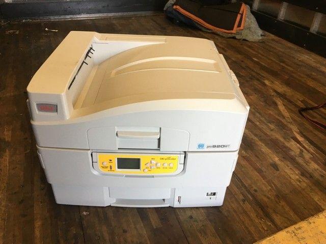 OKI Data 920 WT White Toner Printer RTR#8083585-01