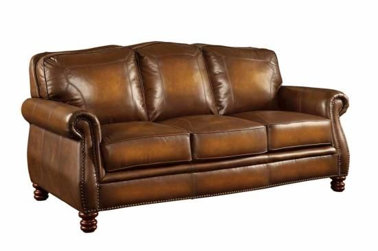 MONTBROOK COLLECTION 100% LEATHER SOFA 503981