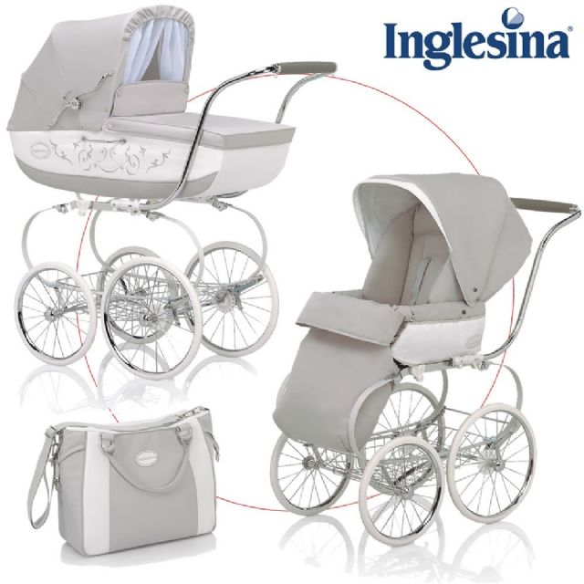 Inglesina Classica Stroller System with Diaper Bag CHARLOTTE NORTH ...