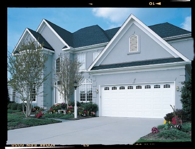 16x7 double garage door installed charlotte north carolina for 16x8 garage door prices