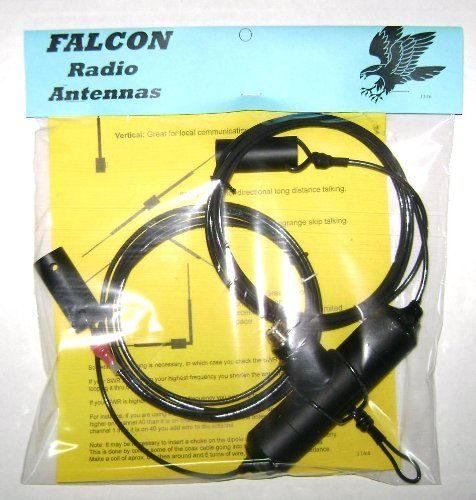 #1 Falcon New 5000 Watt 11 Meter Dipole Cb Radio