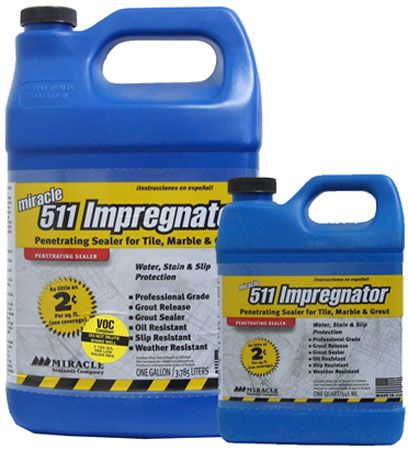 511 Impregnator Sealer Sealers for Stone
