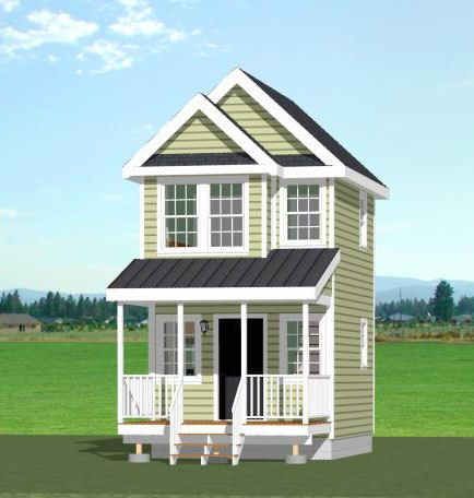 20x16 Tiny House 584 Sq Ft Pdf Floor Plan Boulder