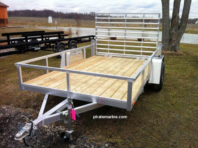 Utility trailers aluminum