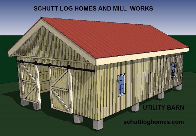 Pole barn kit kansas city missouri farming ranch equipment for Pole barn cabin kits