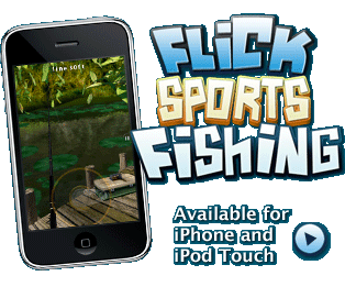 Flick Sports Fishing: Available for iPhone and iPod Touch