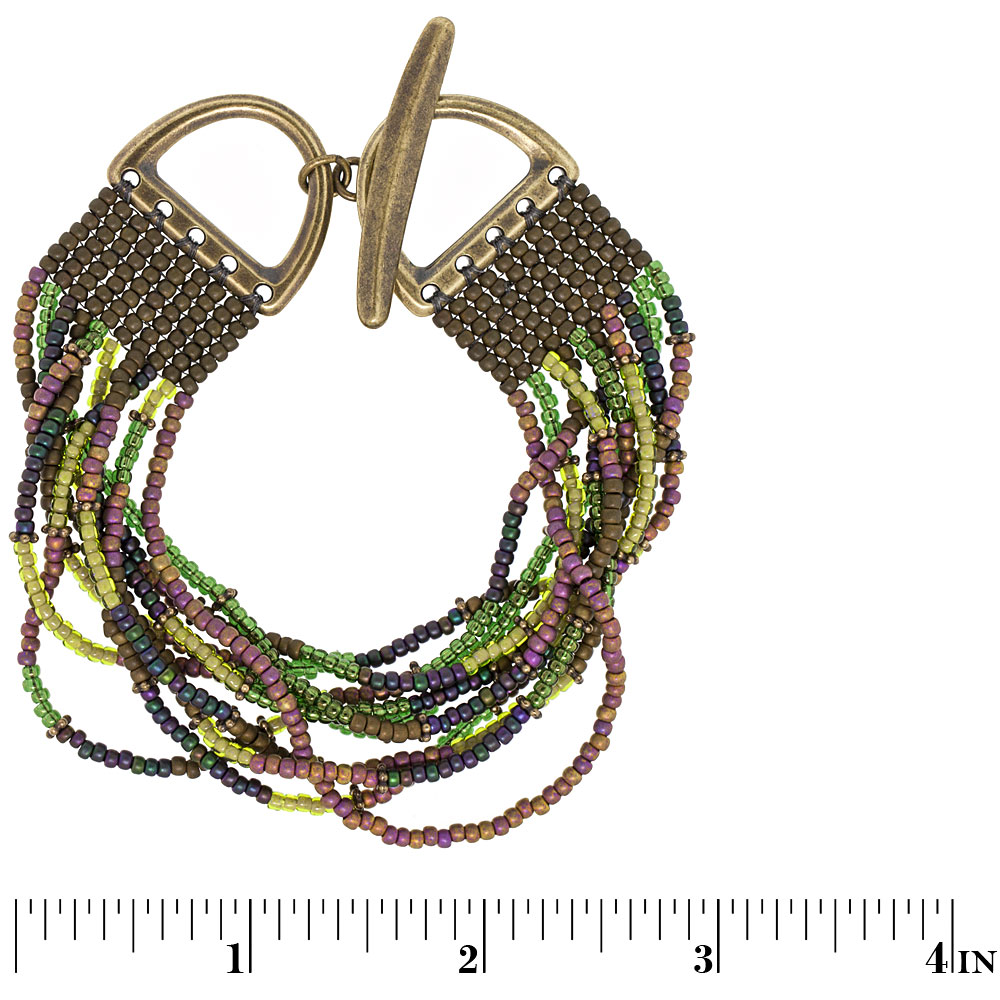 Eggplant Delight Bracelet | Fusion Beads Inspiration Gallery