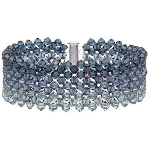 Faded Denim Bracelet