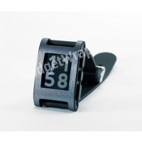 Brushed Steel Film and Screen Protector For Pebble Watch