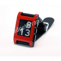 Gloss Red Pebble Watch Wrap And Screen Protector
