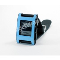 Gloss Sky Blue Pebble Watch Wrap