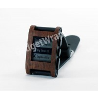 Mahogany Film and Screen Protector For Pebble Watch