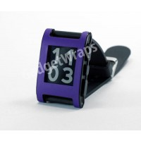 Matte Purple Pebble Watch Wrap