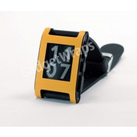 Matte Saffron Yellow Pebble Watch Wrap
