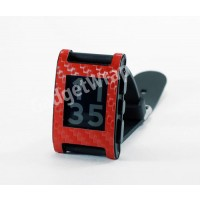 Red Carbon Fiber Film and Screen Protector For Pebble Watch