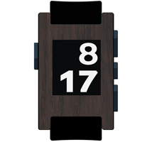 Dark Tamo Film and Screen Protector For Pebble Watch