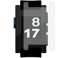 Full Screen/Body Protector For Pebble Watch