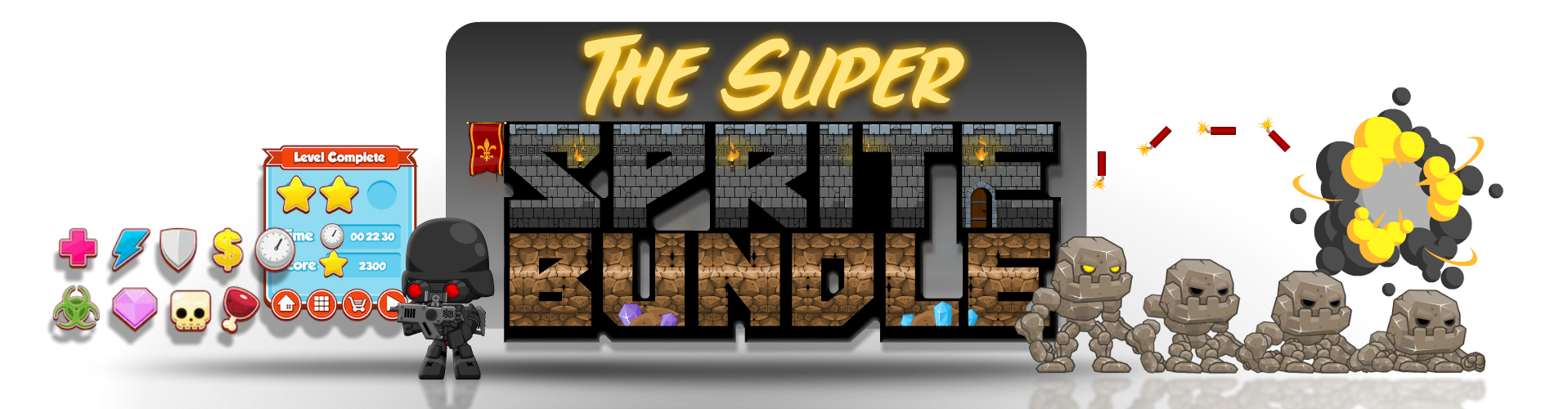 The Super Sprite Bundle 1