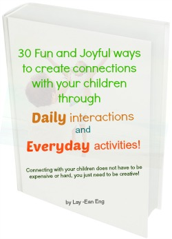 With your children through daily interactions and everyday activities