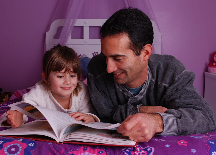 Reading together with your kids