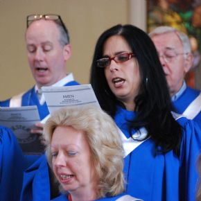 Choir Rehearsal @ Green's Farms Church | Westport | Connecticut | United States