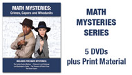Math Mysteries Series: Crimes, Capers and Whodunits